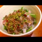 イサキ湯引きのアジアン丼