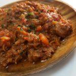 牛肉の爆速トマト煮込み