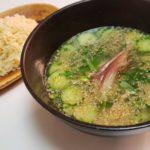 塩冷や汁つけ麺