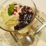 冷凍ブルーベリーソース