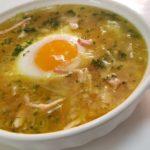 至高のにんにくスープ