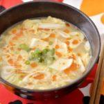豆腐と卵のサンラータン