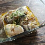 生牡蠣のタバスコオイルマリネ