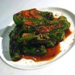 シシトウの甘辛七味焼き