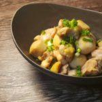 レンジで作る鶏と里芋の煮っころがし