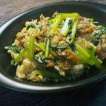 豚小松菜のガリバタライス
